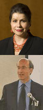 Photo: Carmen M. Reinhart and Kenneth Rogoff